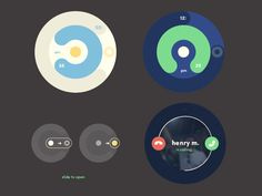 Animation/Screens Android Watch by Bryan Moreno