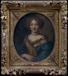Portrait de la marquise de Brinvilliers, école française