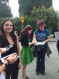 "Lana and Emilie - Behind the scenes - 5 * 5 ""Dream Catcher"" - 25 August 2015"