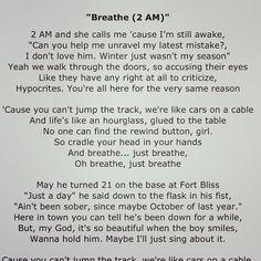 Breath (2am) - Anna Nalick