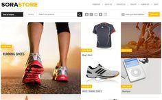 Tempelete Toko Online Blogger - Sora Store Blogger Template ~ SENJATA WEB