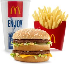 Get started here>> McDonald's: FREE Large Breakfast or Menu Sandwich Coupon! (mobile) McDonald's is offering one free large sandwich fo. Mcdonalds Recipes, Free Mcdonalds, Burger King Whopper, Mcdonalds Breakfast, Gross Food, Clean Eating Challenge, Sandwiches For Lunch, Fast Food Restaurant, Meals For One