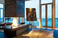 A magnificent penthouse [Stockholm Millesgården]