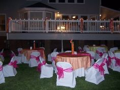 Whimsical At Home Reception! This was my sisters reception at my house