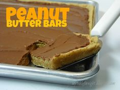 My Table For Eight   {by Jen}: Peanut Butter Bars