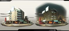 ArtStation - Atomic Delivery - Colossus Concept 01 ( concept rejected ), Sergi Brosa