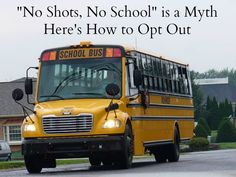 The Myth of Mandatory School Vaccinations