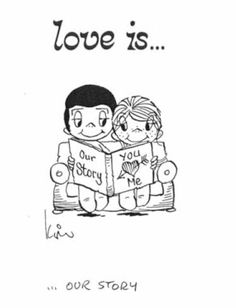 love is cartoons - Google Search Love Is Comic, Hj Story, Love Story, Cute Love, Love Him, Love Of My Life, My Love, Love Notes, Flirting Quotes