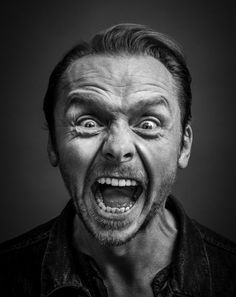 Simon Pegg by Andy Gotts