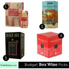 My Fave Boxed Red Wines Under 20 Bucks | {TheMcBaileys.com}
