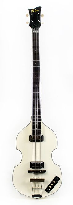 HOFNER Custom Shop Gold Label Berlin Violin Bass Ivory | Reverb
