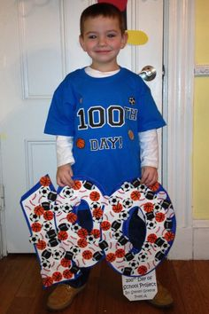 100th Day of School Project Idea