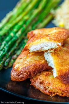 Low Carb Recipes To The Prism Weight Reduction Program Fish Butter Fry Recipe - Super Crispy Fluffy Outer Layer Covering Buttery Soft White Fish, Dipped Into White Sauce. Fried Fish Recipes, Veg Recipes, Baby Food Recipes, Seafood Recipes, Indian Food Recipes, Cooking Recipes, Ethnic Recipes, Cooking Fish, Recipies