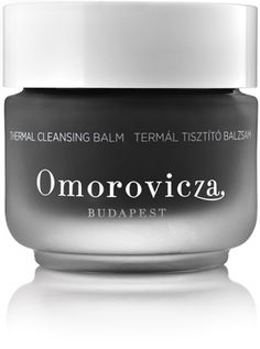 omorovicza thermal cleansing balm... this stuff is otherworldly. it removes impurities & makeup, replenishes skin, & smells softly of orange blossom.