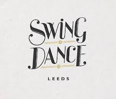 Logo Design by Jeff Shield; would be cute if converted into names and wedding date and/or location Art Deco Typography, Art Deco Logo, Graphic Design Typography, Logo Design, Lettering, Dance Logo, Swing Dancing, Swing Jazz, Dance Themes