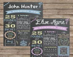 Custom Chalkboard Printable Adult Birthday by SavvyDeetsDesigns