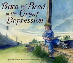 Non-fiction: Born and Bred in the Great Depression is about the things that children who grew up in the Great Depression went through. The characters are not based of a real person, but all of the information about the Great Depression is true.