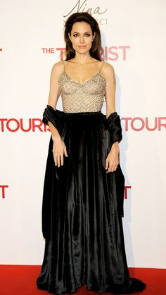Angelina Jolie Attends The Tourist premiere