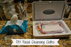 Naturally Crafty Mom: DIY No-Rinse Facial Cleansing Cloths