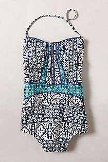 Anthropologie - Nanette Lepore Tiled Waters Maillot
