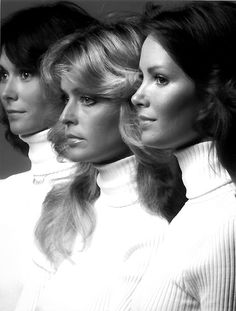 Charlie's Angels. I always wanted them to have a girl that looked like me.