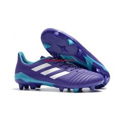 High Quality 2018 Adidas Predator FG Football Boots Purple White Adidas Soccer Shoes With Cheap Pirce Sale Online Lotto Football Boots, Neymar Football Boots, Predator Football Boots, Adidas Football, Football Shoes, Adidas Predator, Tango, Girl Football Player, Football Players