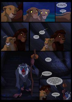 Marks of the past - Page 15 by Irete on DeviantArt Kiara Lion King, Kiara And Kovu, Lion King 2, Disney Lion King, Lion King Series, Lion King Story, Lion King Fan Art, Lion Art, Disney Pixar
