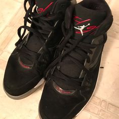 newest 27e23 7c8c3 Nike Shoes   Nike Jordan Flight Rst Mens Size 11 Used Tennis   Color  Black  Red   Size  11