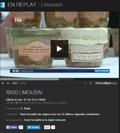 Reportage réalisé par France 3 vendredi 1er avril en suivant ce lien (début à la 9ième minute et 20 seconde) http://pluzz.francetv.fr/videos/jt_1920_limousin_, 137975899.html #france3limousin #france3 #correze #tousgaillards  Ce reportage traite de la mise en place des valeurs nutritionnelles sur les étiquettes de nos produits, étiquetage obligatoire à partir de décembre 2016