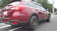METHOD RACE WHEELS - RALLY MR502 Maxxis  AT-771 Bravo Series    P235/65R-17 Mud Flaps by Rally Armor®.