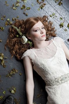 Seattle Bride Magazine took this stunning bridal photo. Shop the diamond earrings featured: www.benbridge.com/shop/Diamond-Hoop-Earrings-in-Sterling-Silver-11093275.html
