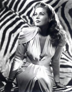 Ramsay Ames - Universal B-Movie star of the 40's. Most famous for her role as Princess Ananka in The Mummy's Ghost (1944)