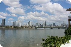 A view of modern Panama City from Casco Viejo