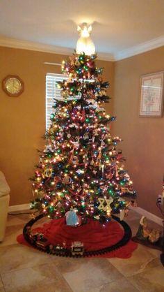 The family christmas tree.