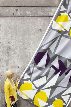 Love the big pattern! Color for a reason - spring 2013|Marimekko