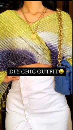 Indian Fashion Dresses, Girls Fashion Clothes, Teen Fashion Outfits, Diy Fashion, Trendy Fashion, Diy Outfits, Fashion Hacks, Diy Clothes Life Hacks, Clothing Hacks