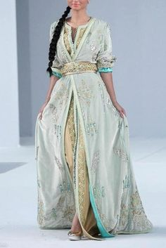 Love this takshita (traditional Moroccan dress)