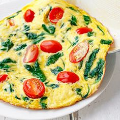 Omlet ze szpinakiem - New Ideas Healthy Omlet Recipes, Easy Brunch Recipes, Easy Salmon Recipes, Healthy Breakfast Recipes, Baby Food Recipes, Healthy Meals, Healthy Food, Easy Meals For Two, Gourmet Breakfast
