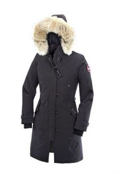 Canada Goose Kensington Parka Women Graphite With Fast Delivery - $319