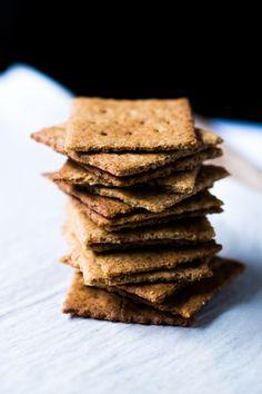Gluten Free & Keto Graham Crackers 🍪 #ketograhamcrackers #lowcarbgrahamcrackers