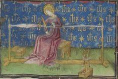 Horae ad usum Parisiensem [Heures de René d'Anjou, roi de Sicile (1434-1480)] Date d'édition : 1401-1500 http://gallica.bnf.fr/ark:/12148/btv1b6000466t/f57.item.r=Parisiensem