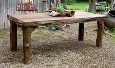 Outdoor/patio dining table
