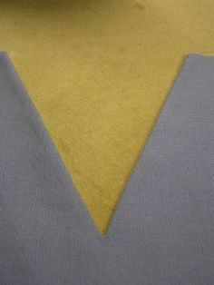 How to sew V necklines with facings ... fashion-incubator