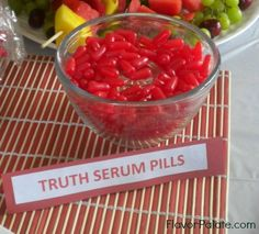 Kids Spy Birthday Party Food Ideas | Flavor Palate