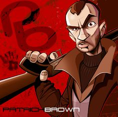ID pic by PatrickBrown on DeviantArt Grand Theft Auto 4, Graffiti Characters, Fictional Characters, Design Art, Logo Design, Fight The Power, Cornelius, Pretty Cool, Gta