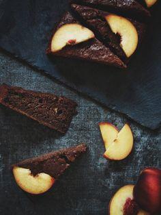 Gluten Free Sweets, Bellisima, Brownies, Deserts, Peach, Healthy Recipes, Fruit, Food, Cake Brownies