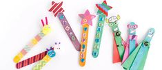 Easy Popsicle Stick Kids' Craft Ideas