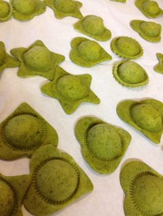 Heart and Star shaped Ravioli