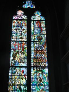 Metz France, St. Maximin Stained glass