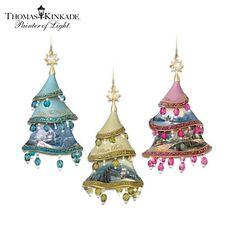 Image result for Thomas Kinkade angel christmas ornaments